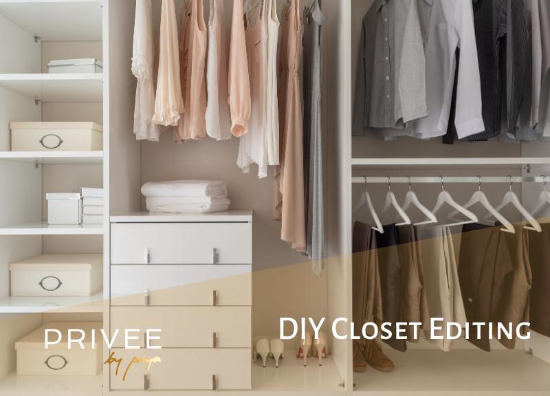 DIY Closet Editing